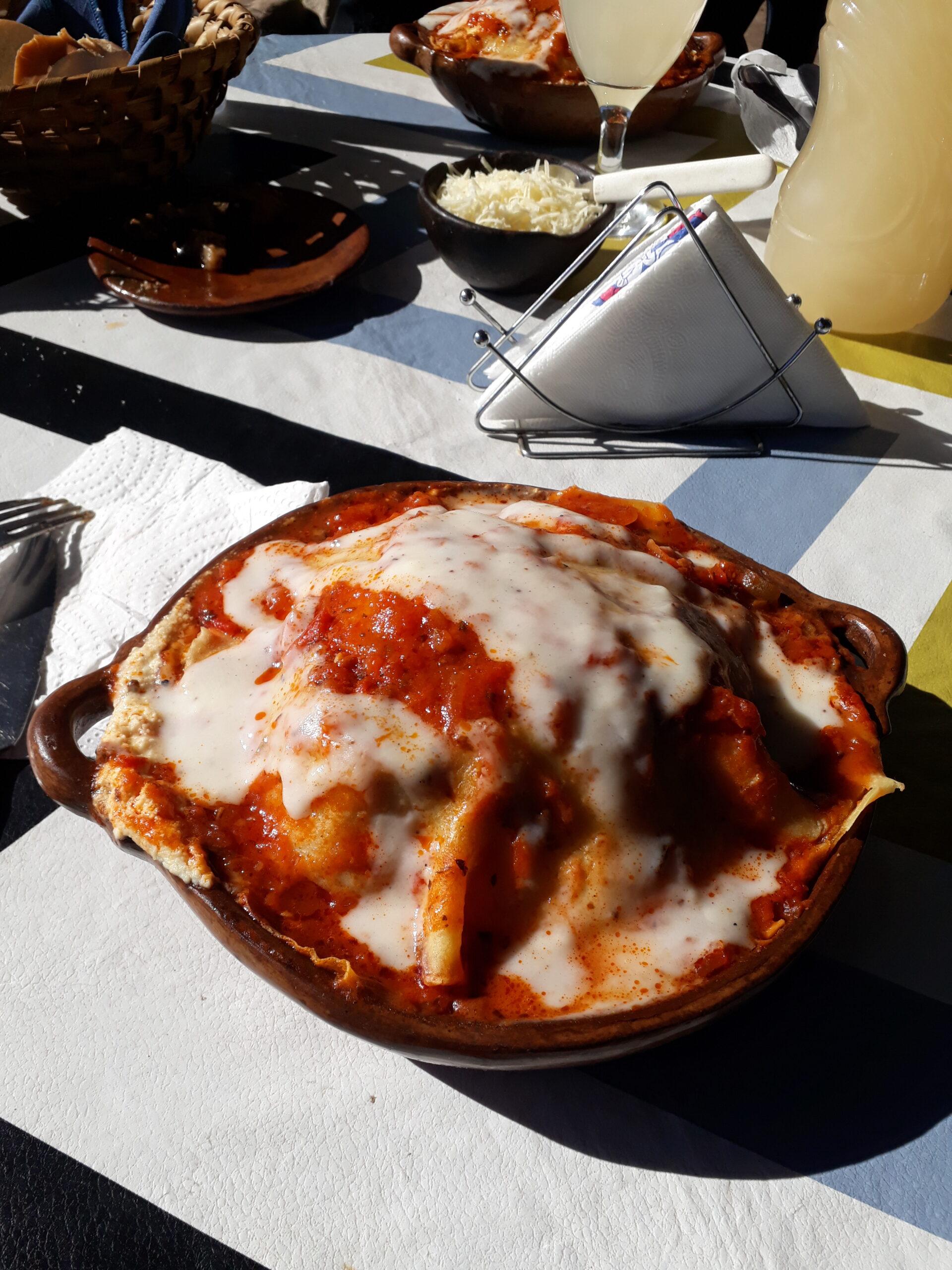 Lasagnas en Villa de las Rosas
